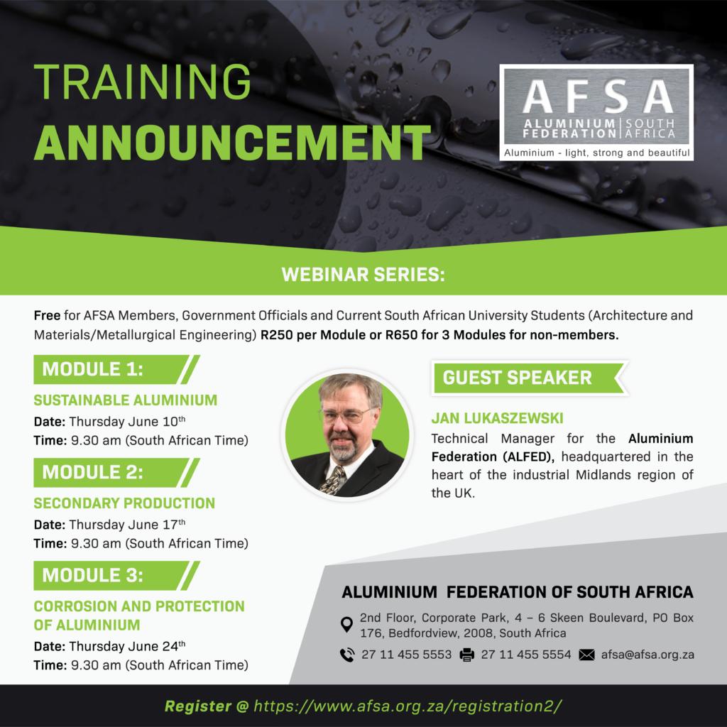 AFSA Webinar Serie